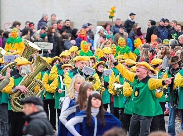 Der Musikverein Wagenstadt war zu Gast...