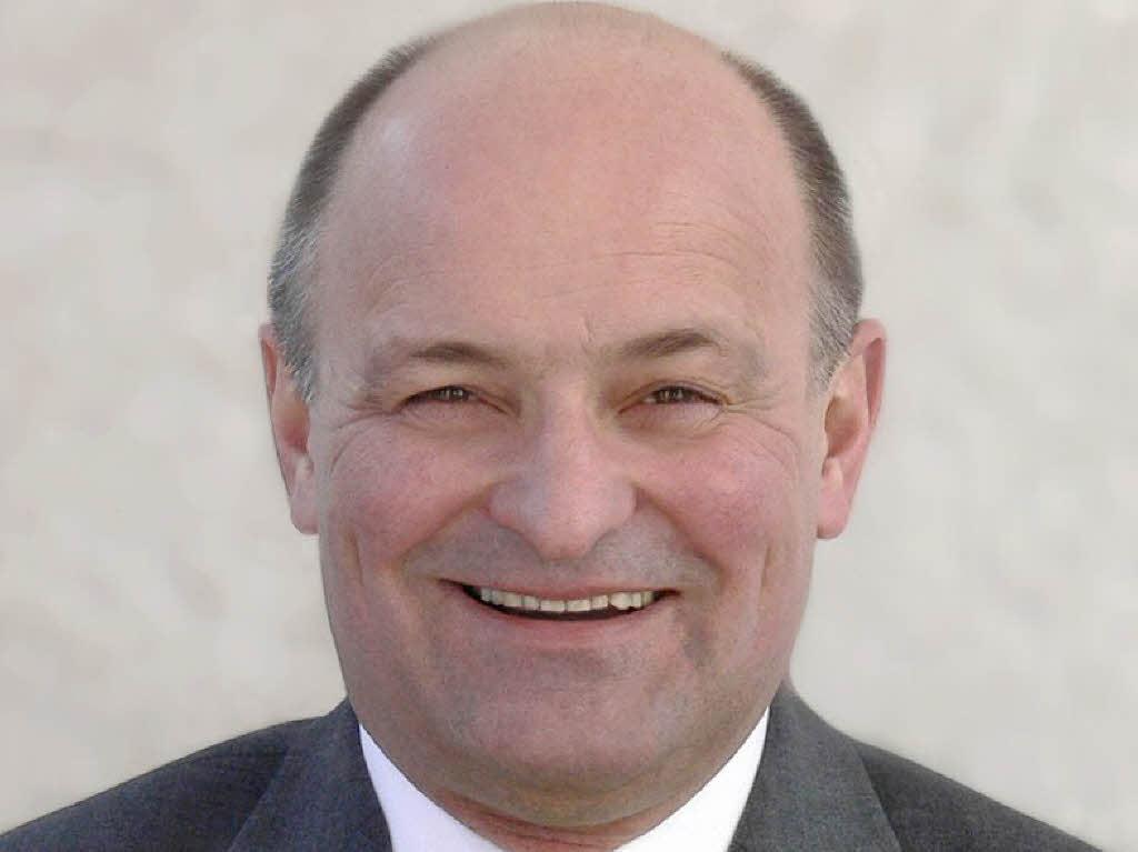 Neuer GöZ-Präsident: Bürgermeister <b>Harald Kraus</b>, Eschbach Foto: Privat - 26564306
