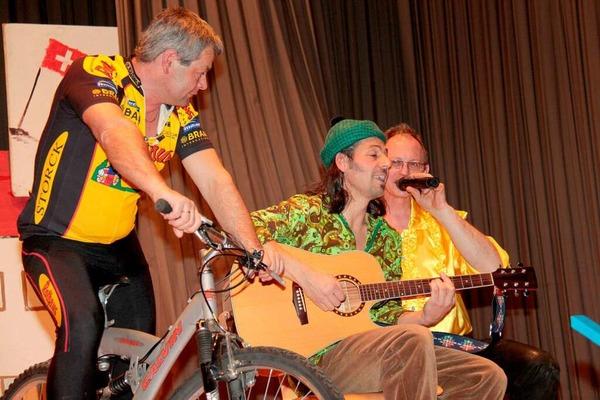 Ralf und Christoph mit technischer Unterst�tzung der Hasslach-Halodies