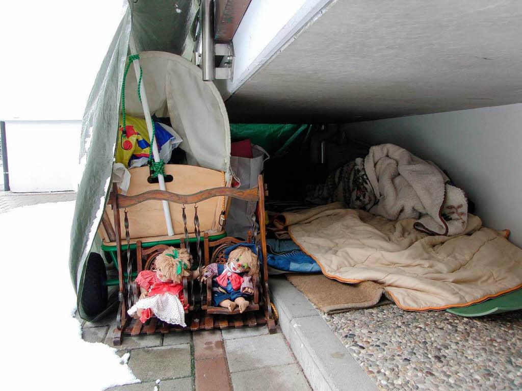 obdachlos in offenburg warum clown augustijn drau en schl ft offenburg badische zeitung. Black Bedroom Furniture Sets. Home Design Ideas