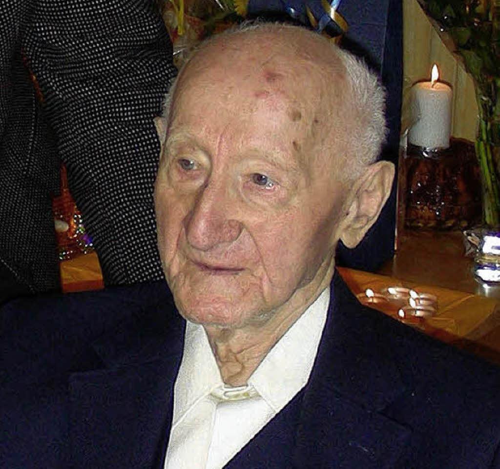100 Jahre alt: Franz Kraus Foto: mario Schöneberg - 26728398
