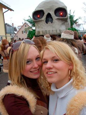 Auch in Wettelbrunn waren die Narren los und sorgten für einen prachtvollen Umzug.