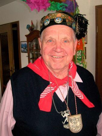 Der Gutacher Ehrenoberzunftmeister Herbert Springmann wurde am Sonntag 70.