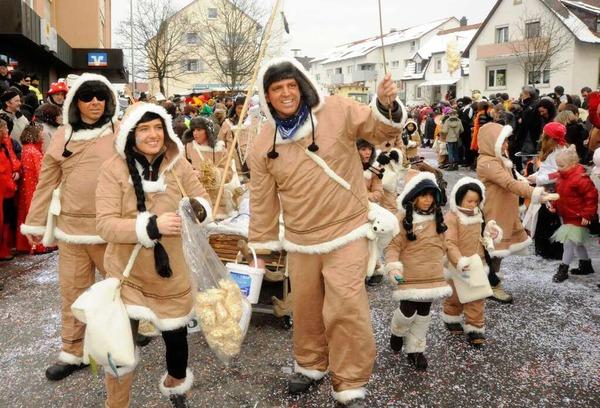 Für Kälte gerüstet - Denzlinger Eskimos