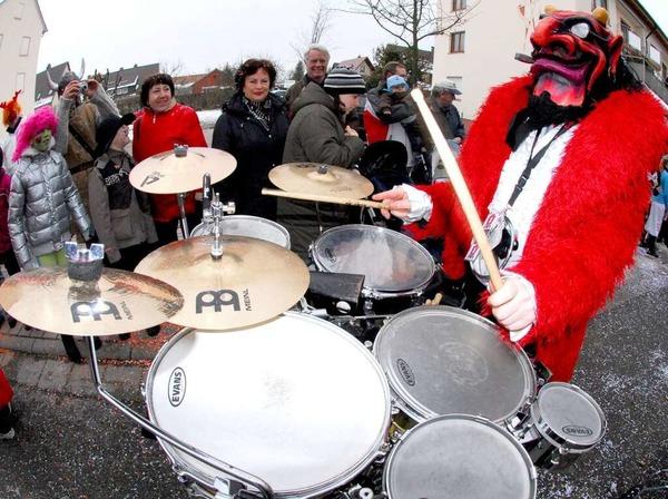 So viel Trommeln - Gugge vom Hochrhein