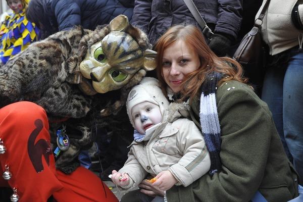 Miau-Zunft mit Publikum