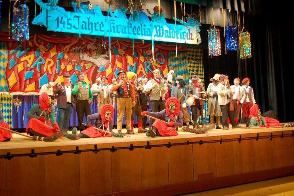 Das Finale der Elfimess in Waldkirch. (Foto: Christian Ringwald)