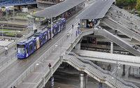 Schlägerei auf der Stadtbahnbrücke