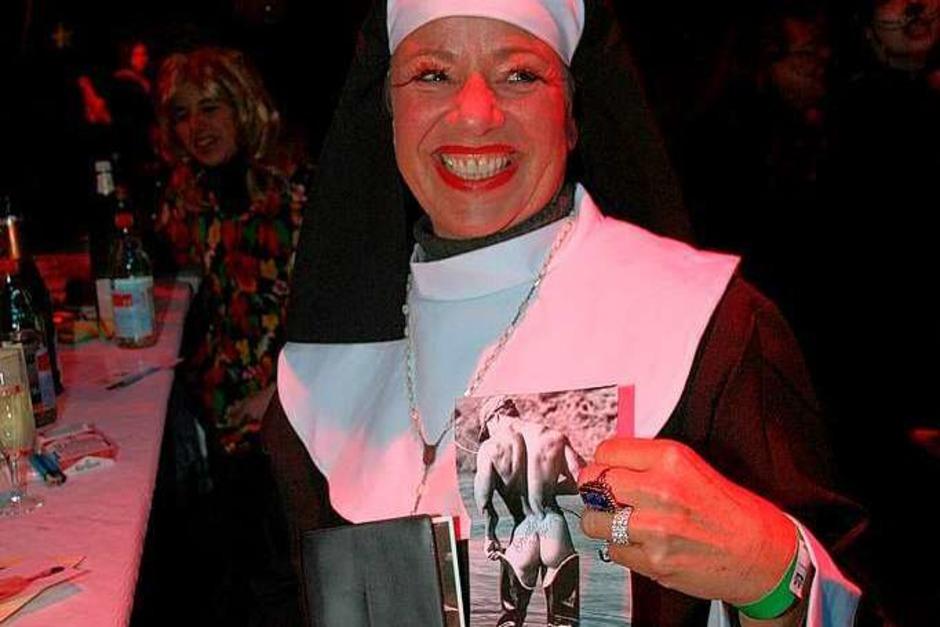 Die Nonnen auf dem Geißenschoppen waren alles andere als brav. (Foto: Friederike Marx)