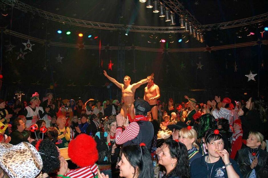 Die Hot Chocolate Männer brachten das Publikum zum Kreischen. (Foto: Friederike Marx)
