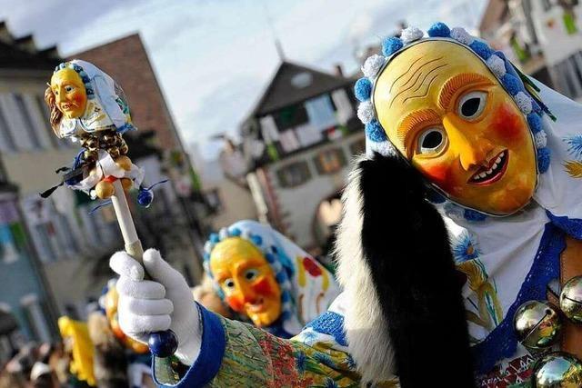 Fotos: Den Narren in Sulzburg lacht die Sonne