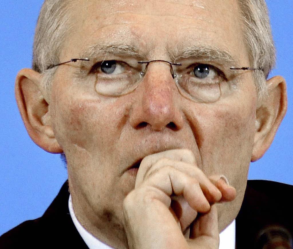 <b>Wolfgang Schäuble</b>: Der strenge Kassenwart - 27345001