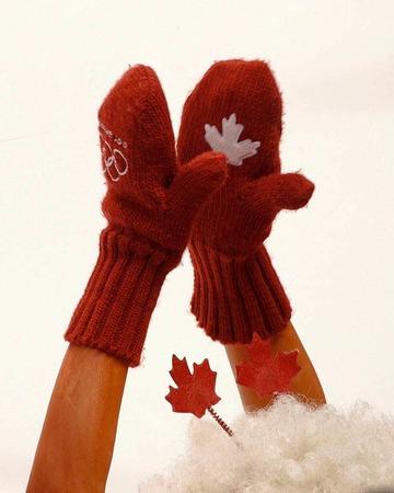 Kanadische Fans mit stilsicherer Bekleidung