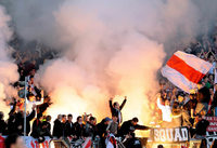 Hooligans: Eintracht-Fans randalieren in Karlsruhe