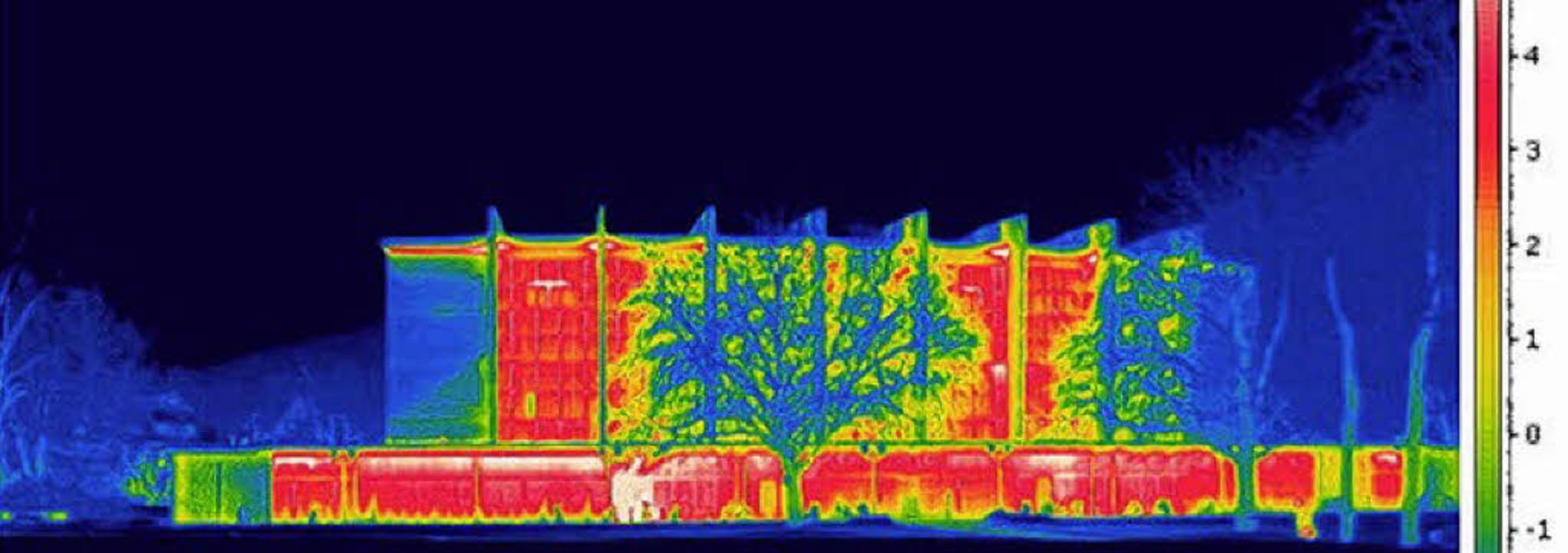 Die ehemalige Stadthalle, heute UB,  i...utet, dass Wärme nach außen entweicht.    Foto: jörg pohlmann