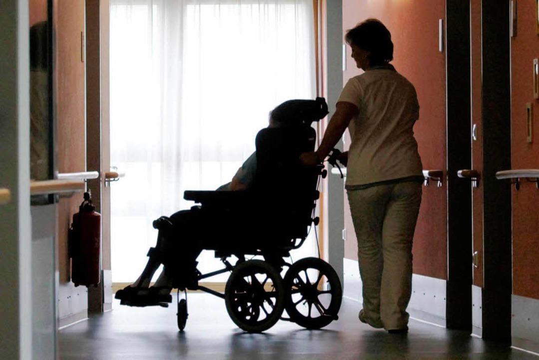 Bundesgesundheitsministerin Kristina S...em Pflegezeit-Modell auf Widerspruch.     Foto: ddp