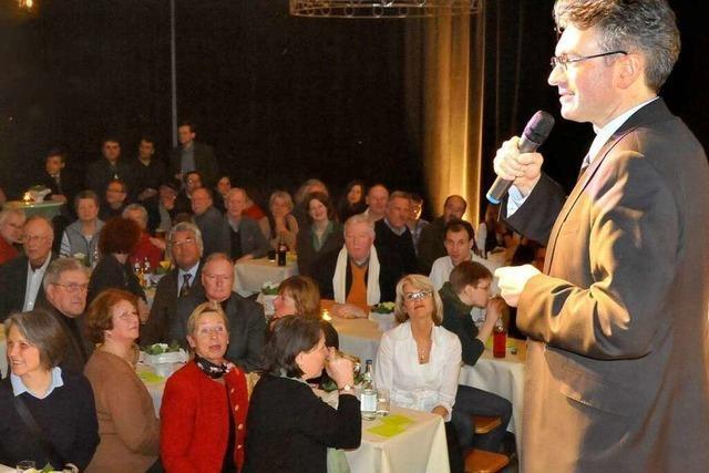 OB Salomon startet Wahlkampf in der Wodanhalle