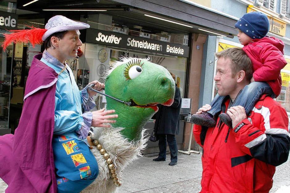 Bilder vom Eröffnungstag der 11. Puppenparade in Lahr (Foto: Heidi Foessel)