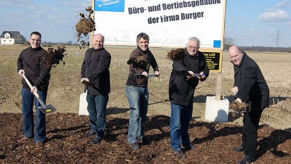 Rheinhausen Firma Burger Baut Neu Badische