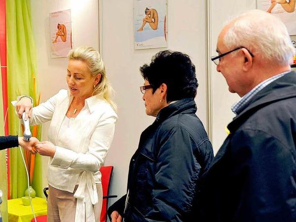 Impressionen von der Gesundheitsmesse Balance in Offenburg.