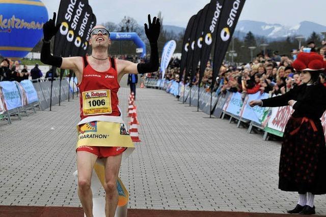 Freiburg-Marathon: Die fehlende Stunde