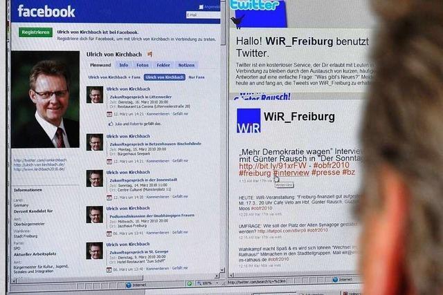 Wie gut fischen die OB-Kandidaten im Netz nach Stimmen?