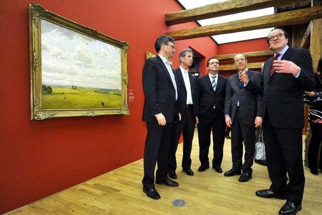 Mappus: Ganz Baden-Württemberg stolz auf Freiburgs Augustinermuseum