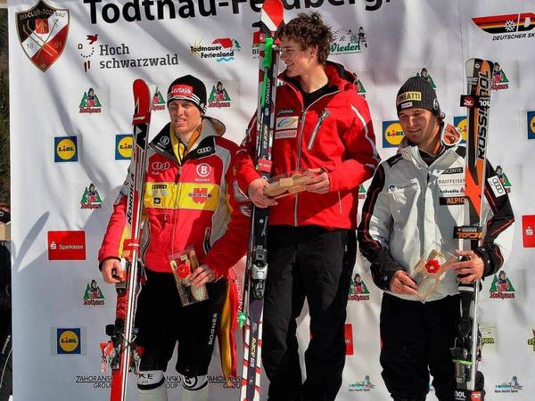 Bei milden Temperaturen fahren die deutschen Ski-Asse ihre Meister aus.