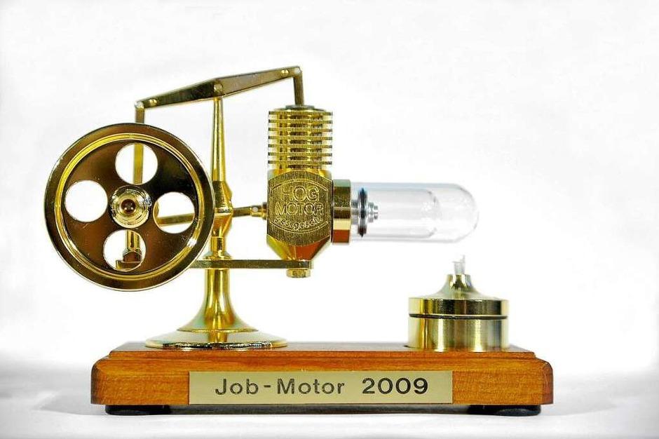 Der Jobmotor – ein Preis für mittelständische Unternehmen. (Foto: Thomas Kunz)