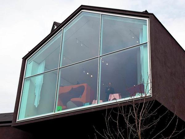 fotos das vitra haus in weil am rhein weil am rhein fotogalerien badische zeitung. Black Bedroom Furniture Sets. Home Design Ideas