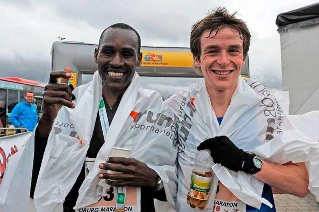 Freiburg-Marathon: Sieger aus dem Flieger