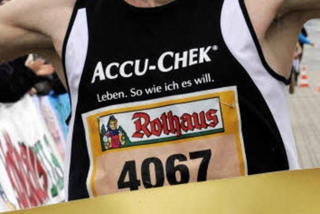 Freiburg-Halb-Marathon: 7030 Läufer trotzen dem Regen