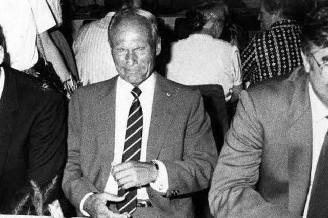 OB-Wahl 1982: Am Ende ging es um 577 Stimmen