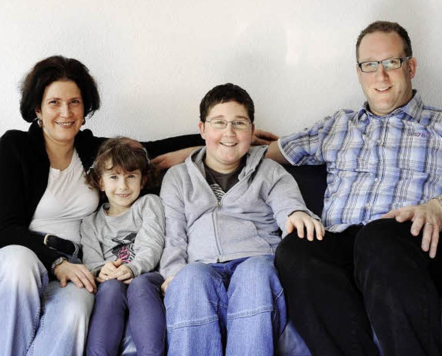 Die Familie Muselewski aus Littenweile...tützt Familien mit  kranken Kindern.      Foto: Ingo Schneider
