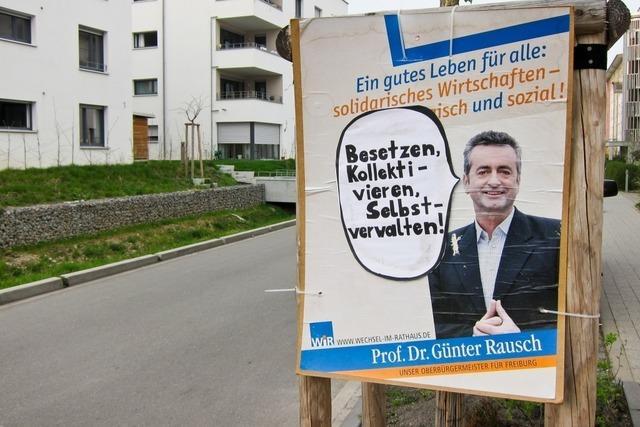 150 Wahlplakate von Günter Rausch verschwunden