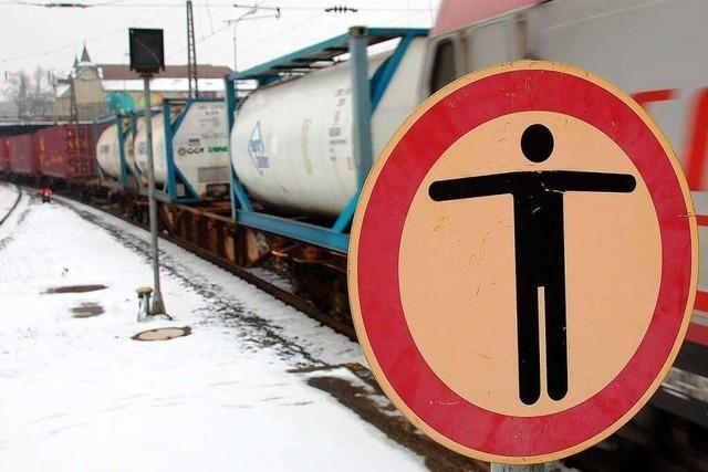 Rheintalbahn in Offenburg: Der Erörterungstermin ist ausgesetzt