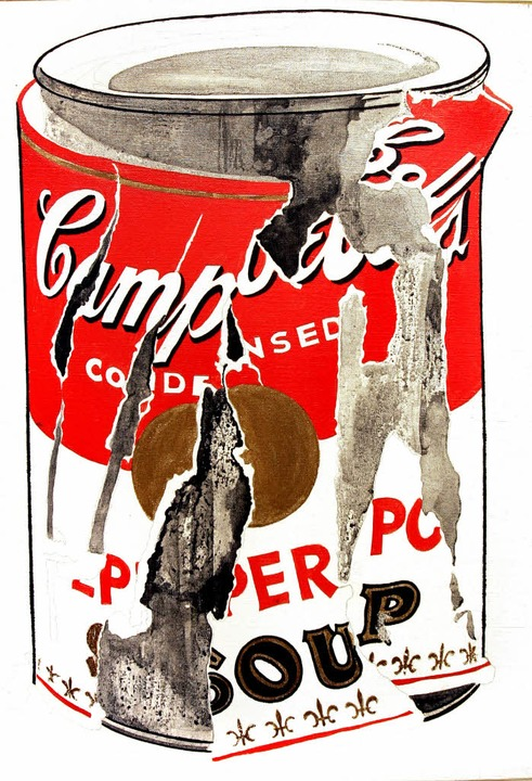 Edle Büchse:  Warhols Suppendose von 1962    Foto: afp/fotolia/grabherr