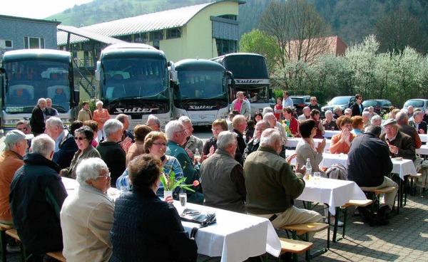 Die Gewerbeschau in Münstertal bot den Besuchern viel Abwechslung.