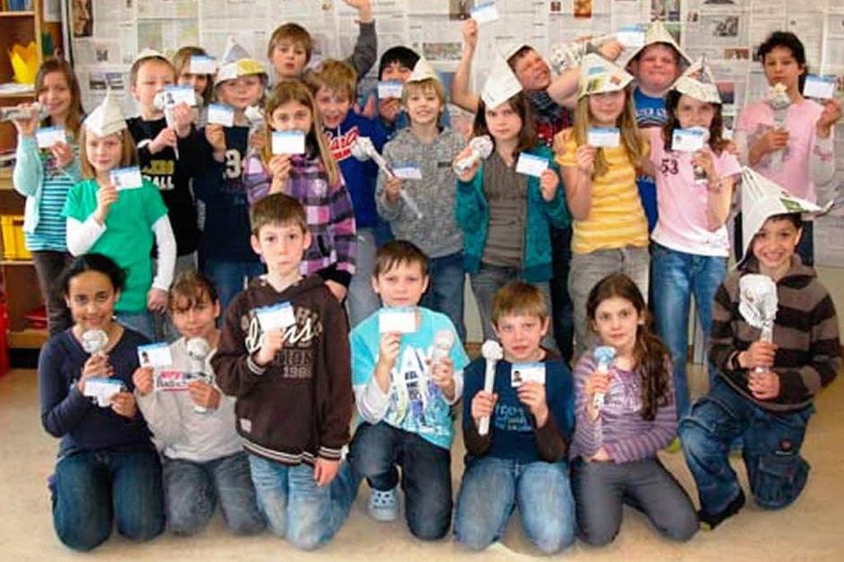 Die Klasse 4 der Grundschule Langenau (Foto: privat)
