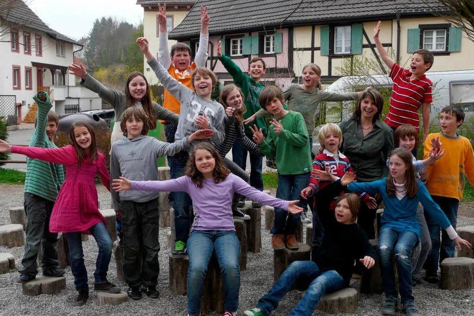 Die Klasse 4b der Grundschule Kandern (Foto: privat)