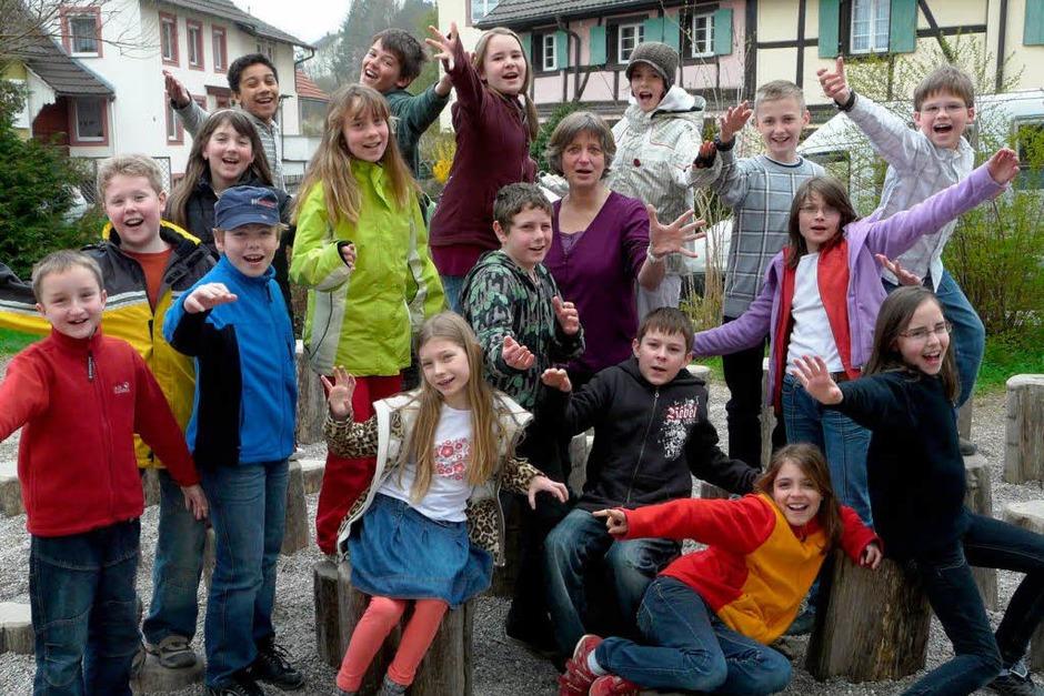 Die Klasse 4a der Grundschule Kandern (Foto: privat)
