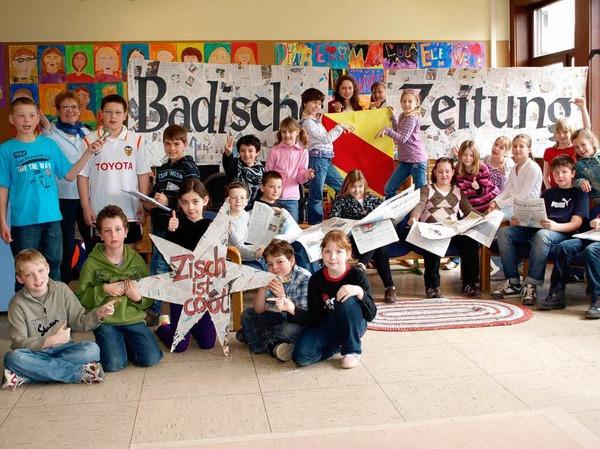 Die Klasse 4b der Scheffelschule Herten