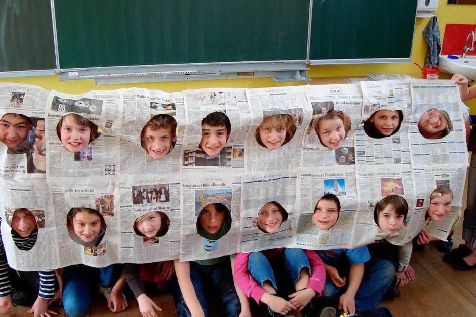 Die Klasse 4c der Grundschule Ichenheim (Foto: privat)