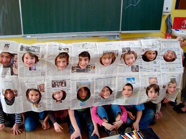 Die Klasse 4c der Grundschule Ichenheim