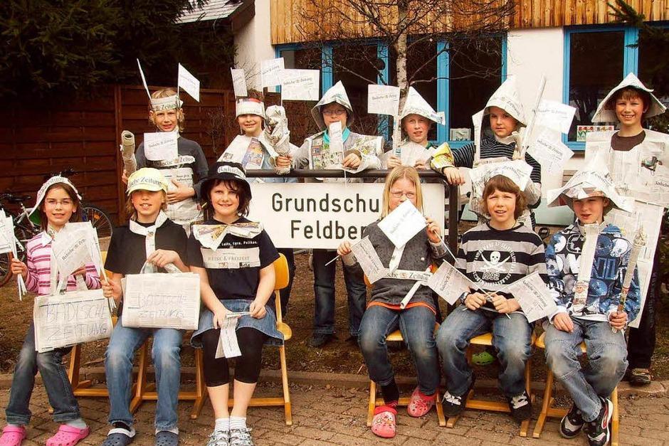 Die Klasse 4 der Grundschule Feldberg (Foto: privat)