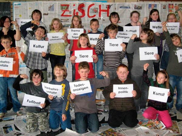 Die Klasse 4a der GHS Rheinhausen