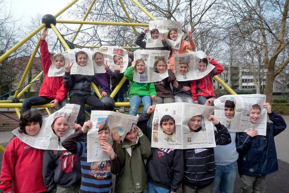 Die Klasse 4d der Georg-Monsch-Schule (Foto: privat)