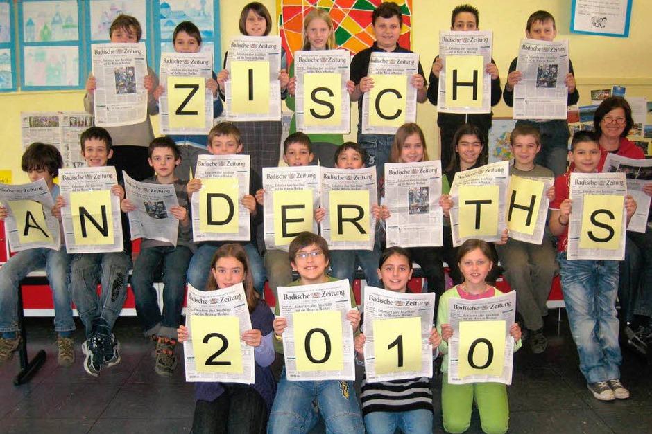 Die Klasse 4b der Theodor-Heuss-Schule, Waldshut (Foto: privat)