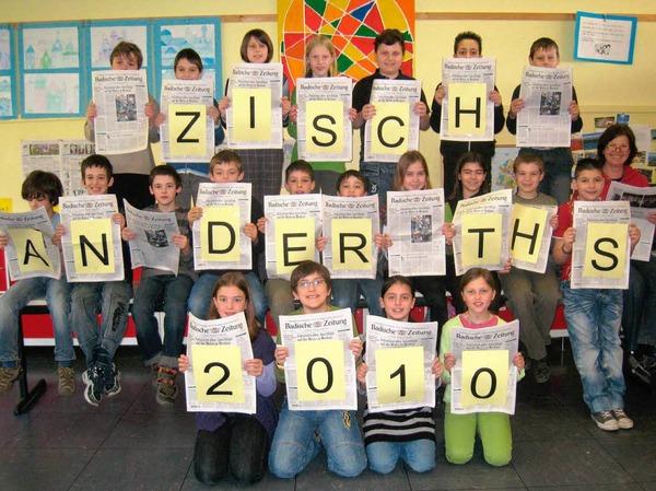 Die Klasse 4b der Theodor-Heuss-Schule, Waldshut