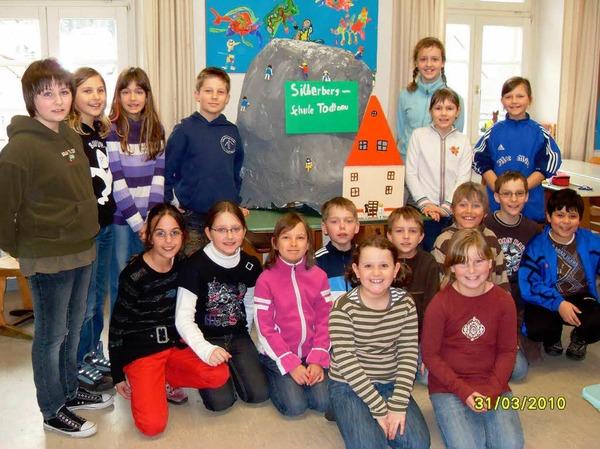 Die Klasse 4b der Silberbergschule Todtnau